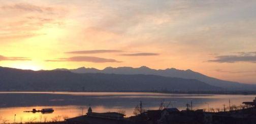 Sunrise from Minato