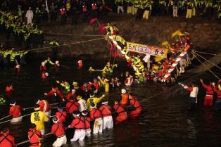 Maemiya's Kawakoshi, 2010 (Courtesy of the Shimin-shimbun)