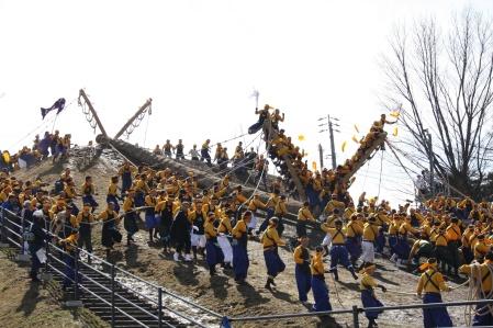 Honmiya's Kiotoshi, 2010 (Photo courtesy of Shimin-shimbun)